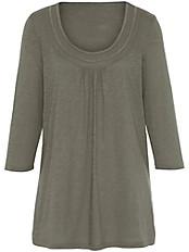 Anna Aura - Rundhals-Shirt mit 3/4-Arm aus 100% Baumwolle