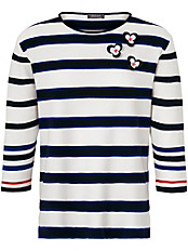 Basler - Pullover mit 1/1 Arm und leicht kastiger Form