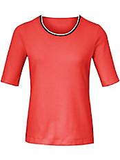 Basler - Rundhals-Shirt mit langem 1/2-Arm und Farbakzent