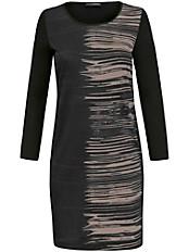 Doris Streich - Jersey-Kleid mit edlem und platziertem Print