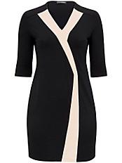 Doris Streich - Jersey-Kleid mit Kontrast-Streifen