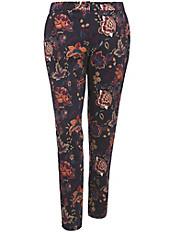 Emilia Lay - Knöchellange Hose im angesagten Blumen-Print