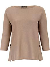 Emilia Lay - Pullover mit 7/8 Arm und dekorativen Schlitzen