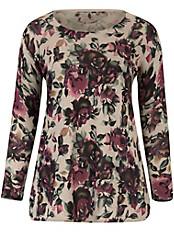 Emilia Lay - Pullover mit einem prächtigen Blüten-Dessin