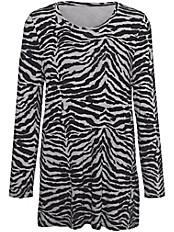 Emilia Lay - Rundhals-Shirt in A-Form