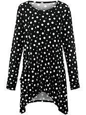 Emilia Lay - Rundhals-Shirt in A-Linie