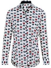 Eterna - Bluse im Hemdblusen-Schnitt