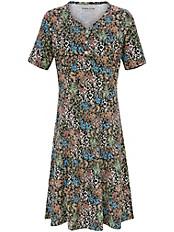 Green Cotton - Jerseykleid mit charmantem Millefleurs-Dessin