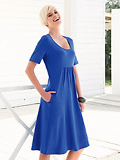 Green Cotton - Kleid mit 1/2-Arm aus 100% Baumwolle