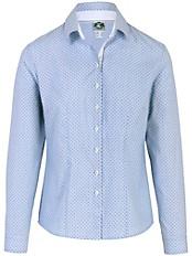 Hammerschmid - Bluse mit interessanten Details und Überdruck