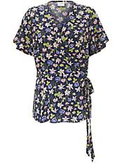 JUNAROSE - Bluse mit V-Ausschnitt und 1/4 Arm