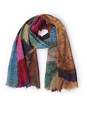 Passigatti - Schal in vielfarbigem Print