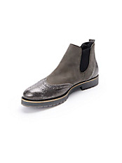 Paul Green - Chelsea-Boot mit modischen Material-Mix