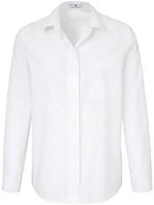 Peter Hahn - Bluse in etwas längerem Hemdblusen-Schnitt