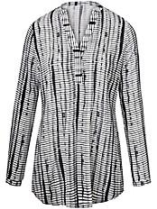 Peter Hahn - Bluse mit V-Ausschnitt