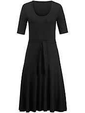 Peter Hahn - Jersey-Kleid mit 1/2-Arm und Rundhals-Ausschnitt