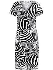 Peter Hahn - Kleid mit 1/4-Arm und V-Ausschnitt