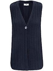 Peter Hahn - Strickweste aus 100% Baumwolle