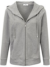 Peter Hahn - Sweat-Jacke ein sportives, modisches Hoodie
