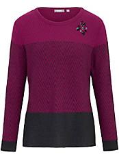 Rabe - Pullover mit dekorativen, applizierten Steinchen