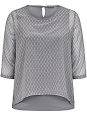 Samoon - Bluse mit angesagtem Minimal-Dessin