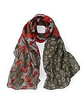 Samoon - Schal mit strahlenden Farbakzenten