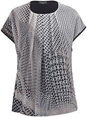 Via Appia Due - Rundhals-Shirt mit 1/2-Arm