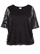 zizzi - Transparente Bluse
